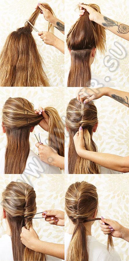 Укладка волос в домашних условиях (23 фото)
