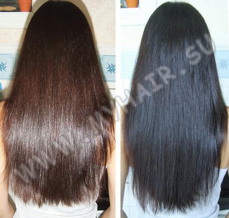 как красить бесцветной хной волосы