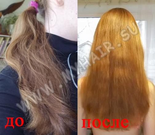 Восстановить сухие волосы