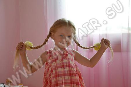 Чем лучше мыть детские волосы