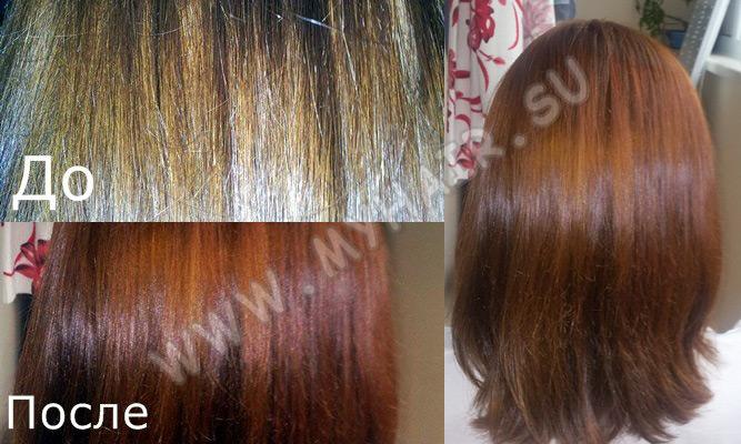 Как сделать волосы русыми с помощью хны